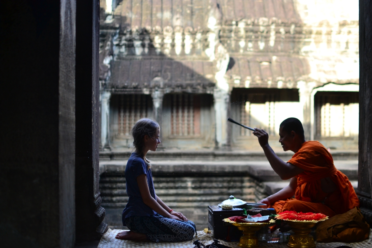 Stone and secrets in Angkor Wat