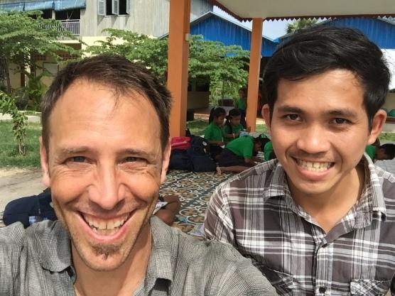 Kim (4th grade teacher) and John