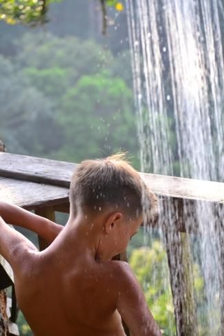 treehouse shower