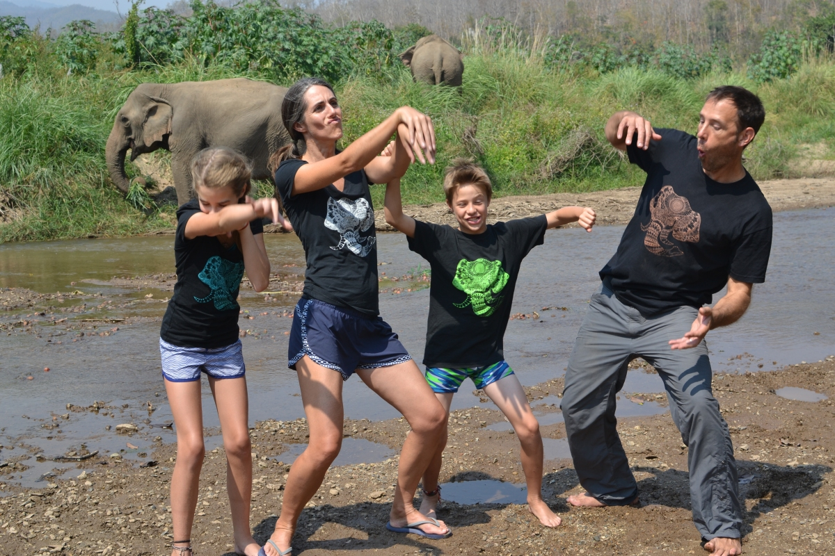 How a Teacher and a Therapist Took Their Family Around the World for Four Months.