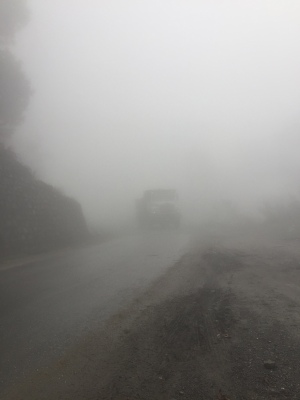 Driving in a cloud
